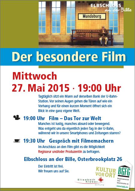 """2015, Osterbrookviertel, Film """"Das Tor zur Welt"""""""