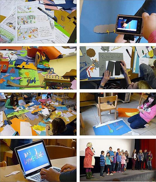 Elisabeth-Kleber-Stiftung / Kinder- und Jugendförderung / Wir fördern ein kreatives Umfeld