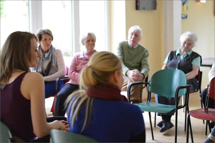 """2015, Lohbrügge, Film """"Das Tor zur Welt"""" / Elisabeth-Kleber-Stiftung / Seniorenförderung / Wir fördern ein aktives Leben im Alter"""