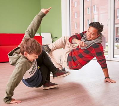 2020 / Elisabeth-Kleber-Stiftung / HipHop-Training für die Kiddies / Foto: Kaspar Fuglsang